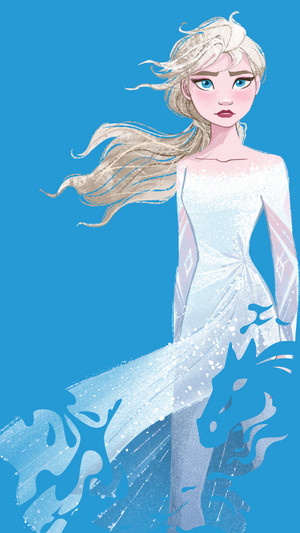 Frozen 2 - Elsa Phone wallpaper