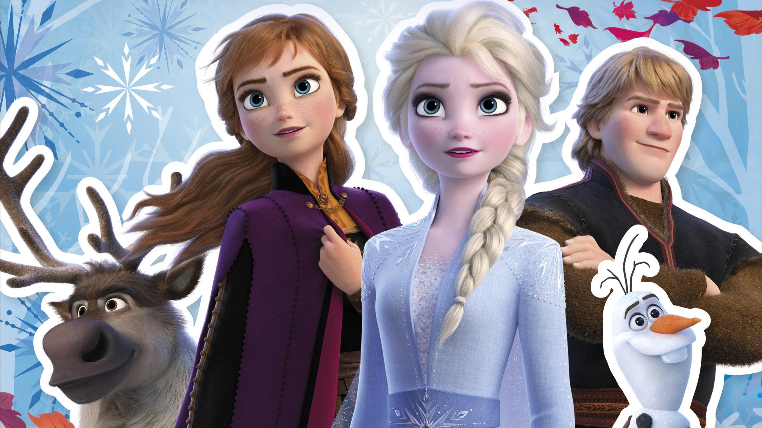 Frozen 2 Wallpaper - Elsa the Snow Queen Wallpaper ...