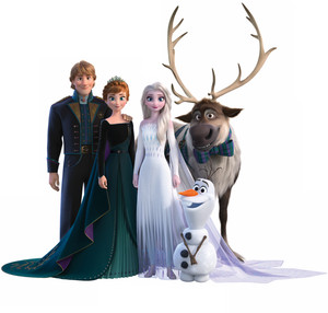 La Reine des Neiges 2 group