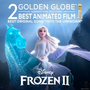 "겨울왕국 2 nominated for Best Animated Picture and Best Song ""Into the Unknown"" at the Golden Globes"