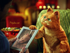 GARFIELD SAY THIS IS MY GIRLFRIENDS