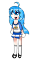 Galaxy Mizuki as Everfree - latale-kirby photo