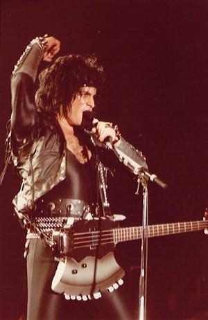 Gene ~St. Louis, Missouri...December 4, 1984 (Animalize World Tour)