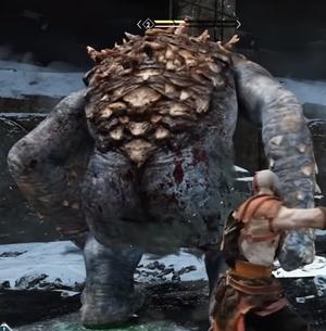 God of War 2018 Ogre Butt