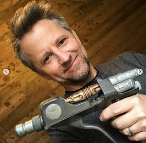 Gordon with a gun from Andromeda