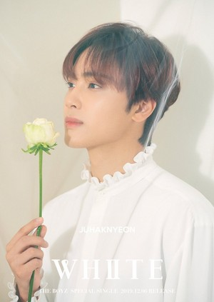 HAKNYEON teaser images for special single 'White'