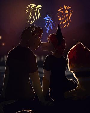 Happy New Years!~<3