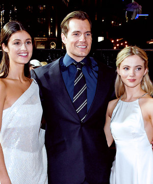 Henry Cavill, Anya Chalotra and Freya Allan - World Premiere of The Witcher - December 16th 2019