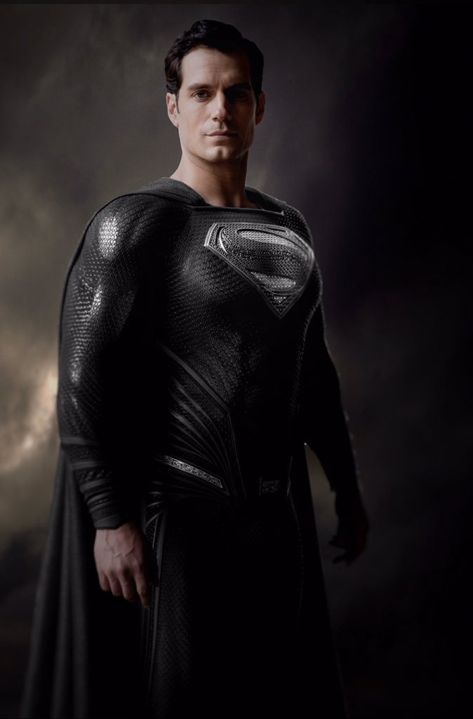 Henry Cavill in Zack Snyder's Justice League - The Black Suit