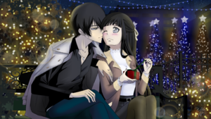 Hibari x Enrei in Christmas Eve 2020