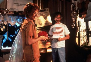 Hook (1991) Behind the Scenes - Julia Roberts and Steven Spielberg