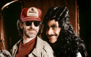 Hook (1991) Behind the Scenes - Steven Spielberg and Dustin Hoffman