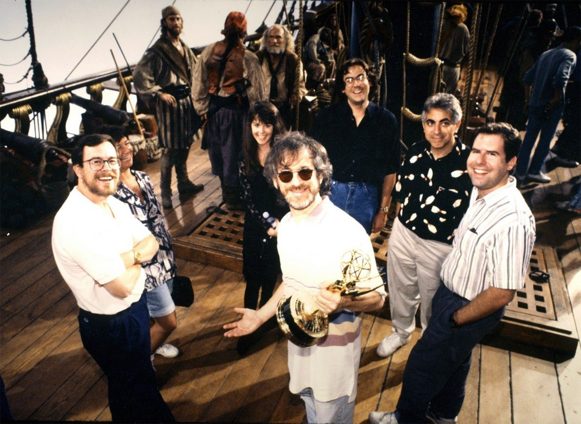 Hook (1991) Behind the Scenes - Steven Spielberg