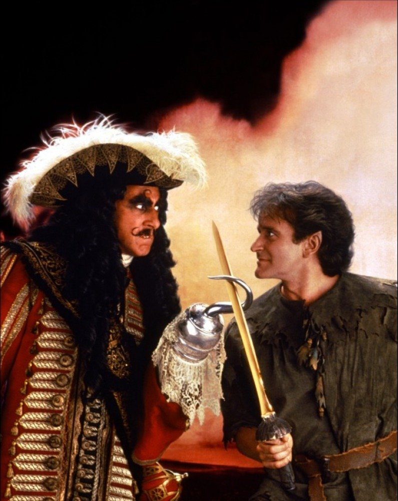 Hook (1991) Promo - Captain Hook and Peter Banning