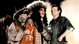 Hook (1991) Promo - Mr. Smee, Captain Hook and Peter Banning