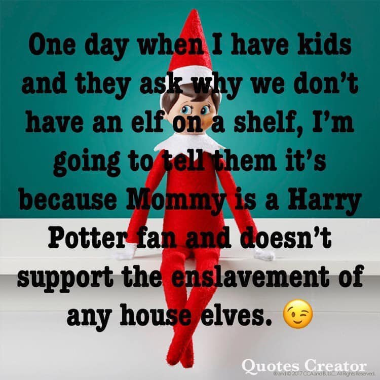How Harry Potter Fans Can Ditch That Dumb Shelf Elf