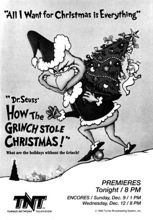 How the Grinch 偷了 Christmas! (1966) TV Advertisement from 1990