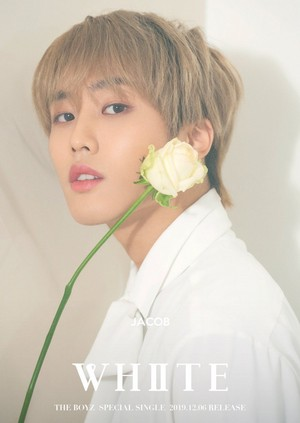 JACOB teaser images for special single 'White'