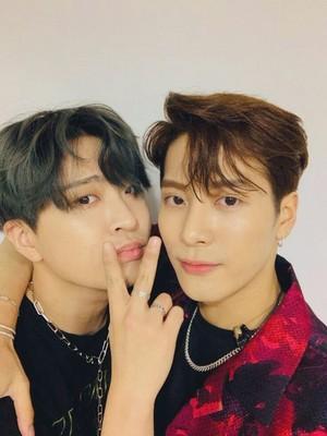 Jackson and Youngjae