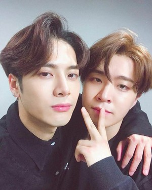 Jackson and Youngjae