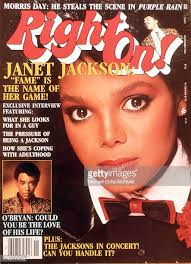Janet Jackson On The Cover Of Right On