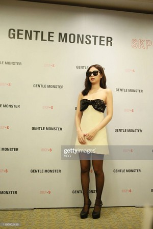 Jennie at Gentle Monster event in Beijing 191210