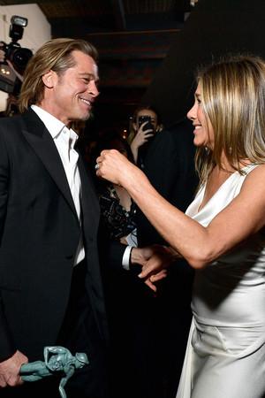 Jennifer Aniston and Brad Pitt 26th Annual Screen Actors Guild Awards January 19, 2020