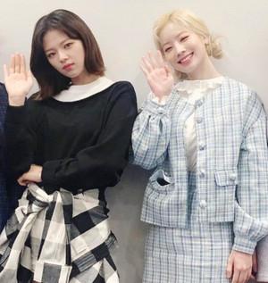 Jeongyeon and Dahyun