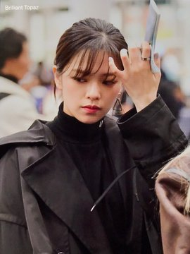 Jeongyeon at the Airport