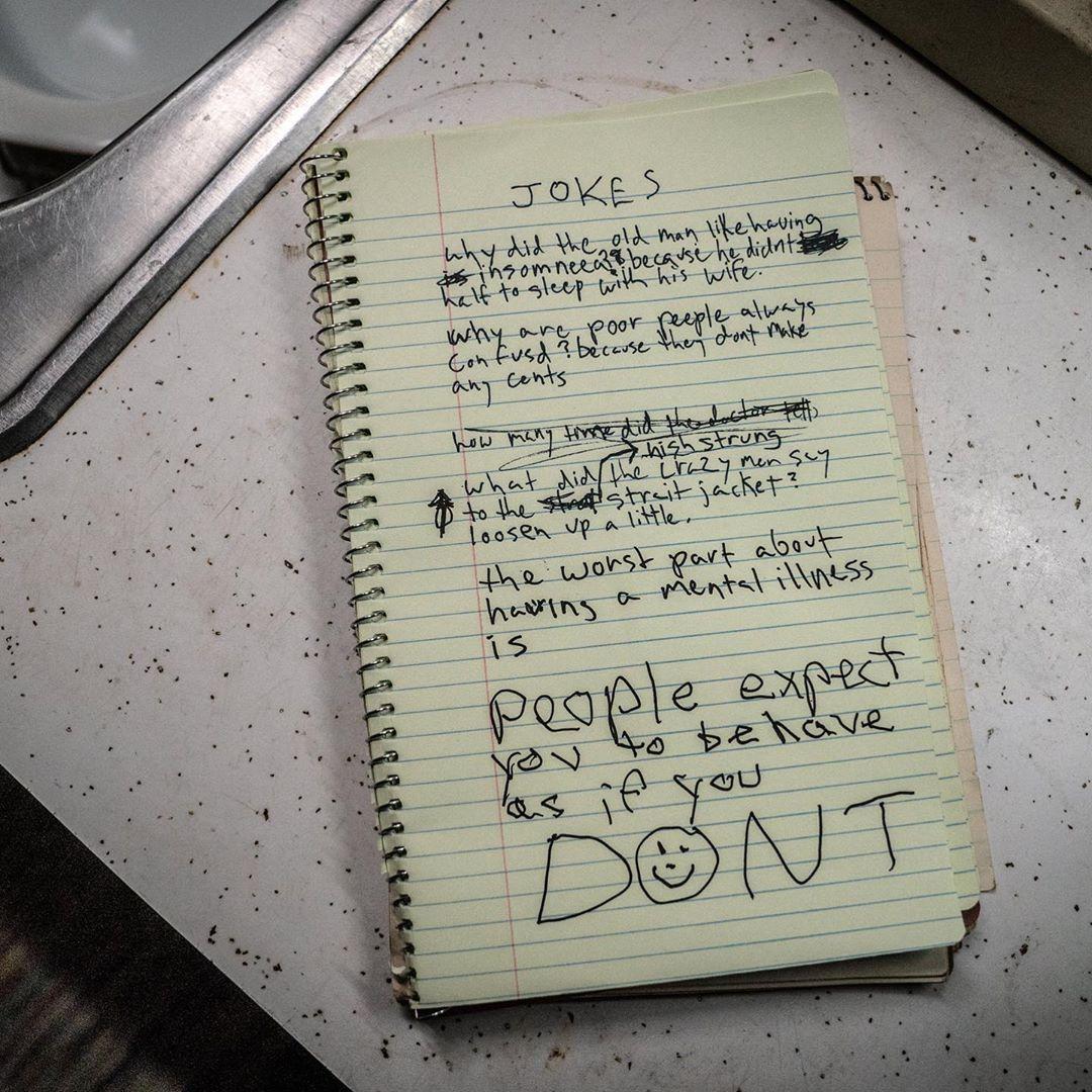 Joker (2019) Behind the Scenes - Notebook