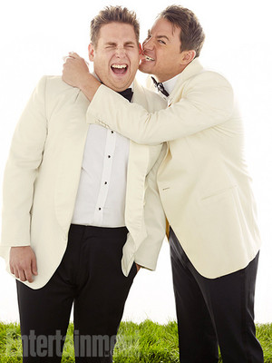 Jonah collina and Channing Tatum - Entertainment Weekly Photoshoot - 2014