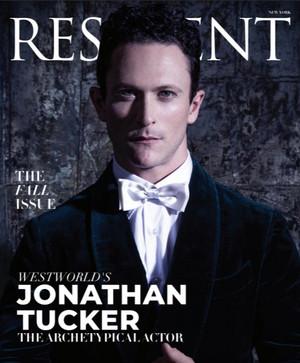 Jonathan Tucker - Resident Magazine Cover - 2018