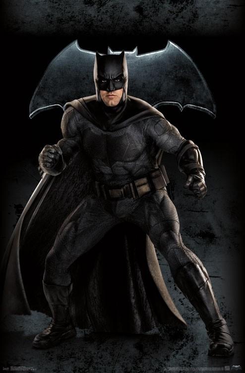 Justice League (2017) Poster - Batman