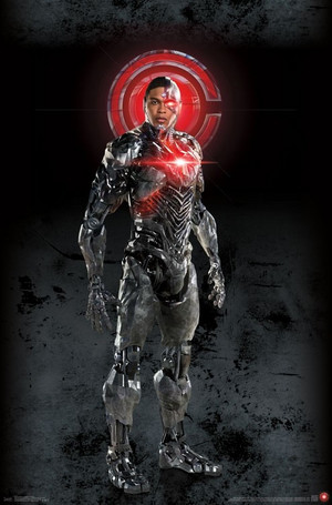 Justice League (2017) Poster - Cyborg