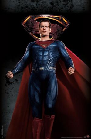 Justice League (2017) Poster - 슈퍼맨