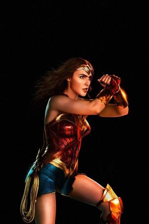 Justice League (2017) Poster - Wonder Woman