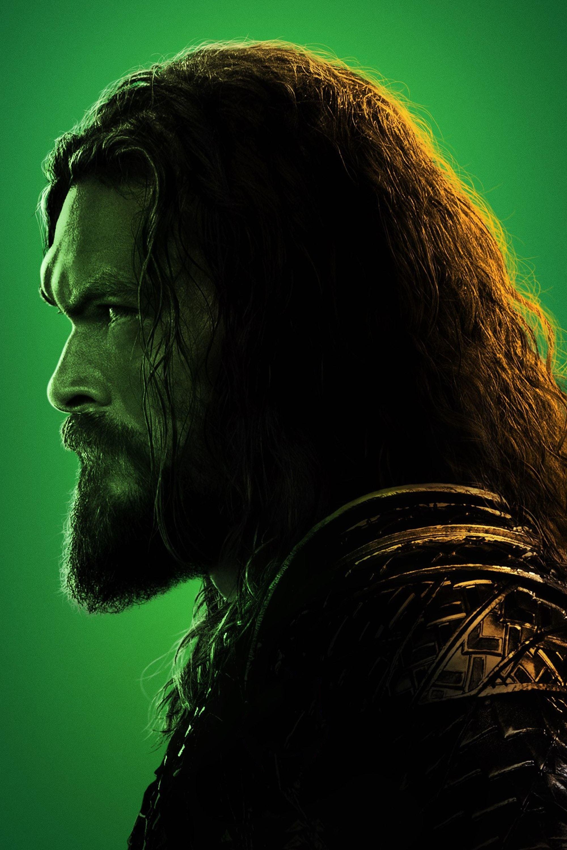 Justice League (2017) Profile Poster - Aquaman