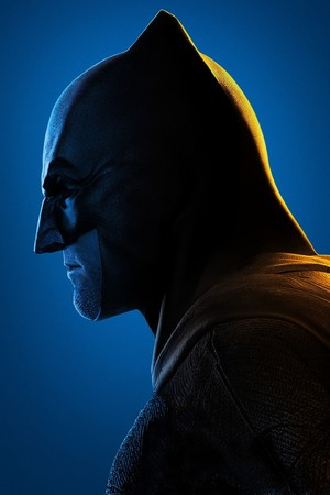 Justice League (2017) perfil Poster - batman