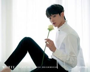 Juyeon teaser afbeeldingen for special single 'White'