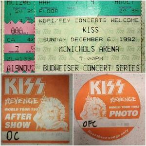 KISS ~Denver, Colorado...December 6, 1992 (Revenger Tour)