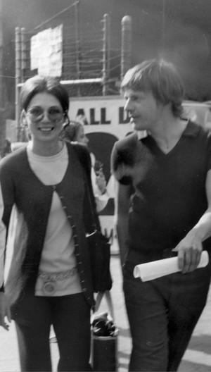 Kathryn Leigh Scott & John Karlen