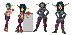Keira Hagai (Jak and Daxter) Precursor Legacy and Nawawala Frontier