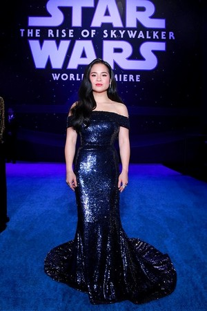 Kelly Marie Tran - premiere of Star Wars: The Rise Of Skywalker - December 16, 2019