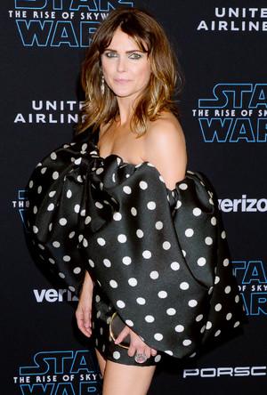 Keri Russell - premiere of stella, star Wars: The Rise Of Skywalker - December 16, 2019