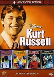 Kurt Russell disney DVD Film Collection