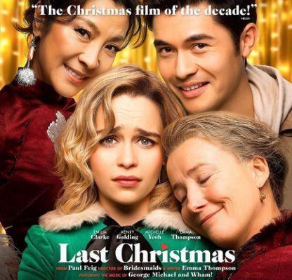 Last Christmas 2019 Film (Movie) Poster