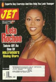 Lela Rochon On The Cover Of Jet