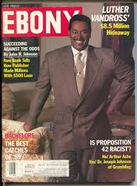 Luther Vandrosd On The Cover Of Ebony