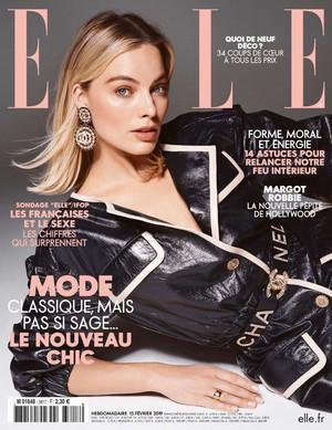 Margot Robbie - Elle France Cover - 2019