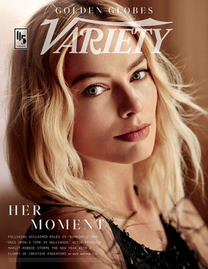 Margot Robbie - Variety Cover - 2020